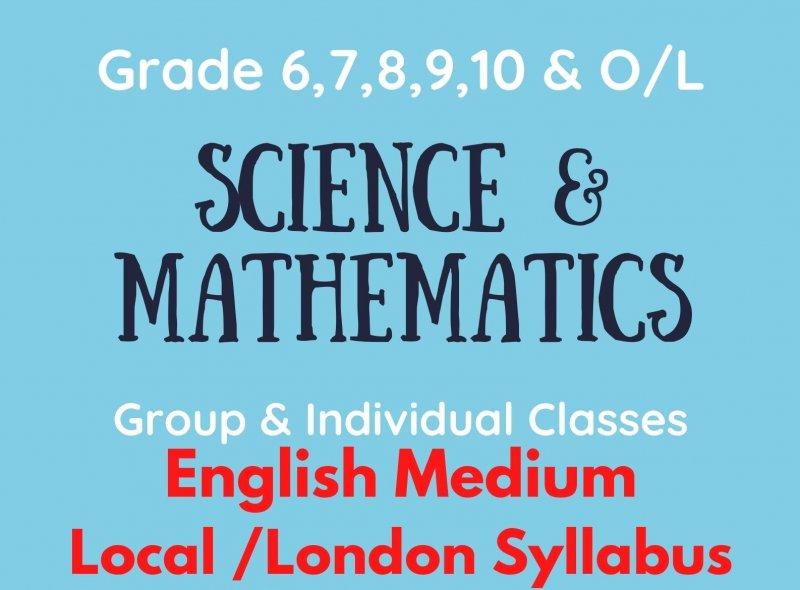 Science & Mathematics(Grade 6-11)