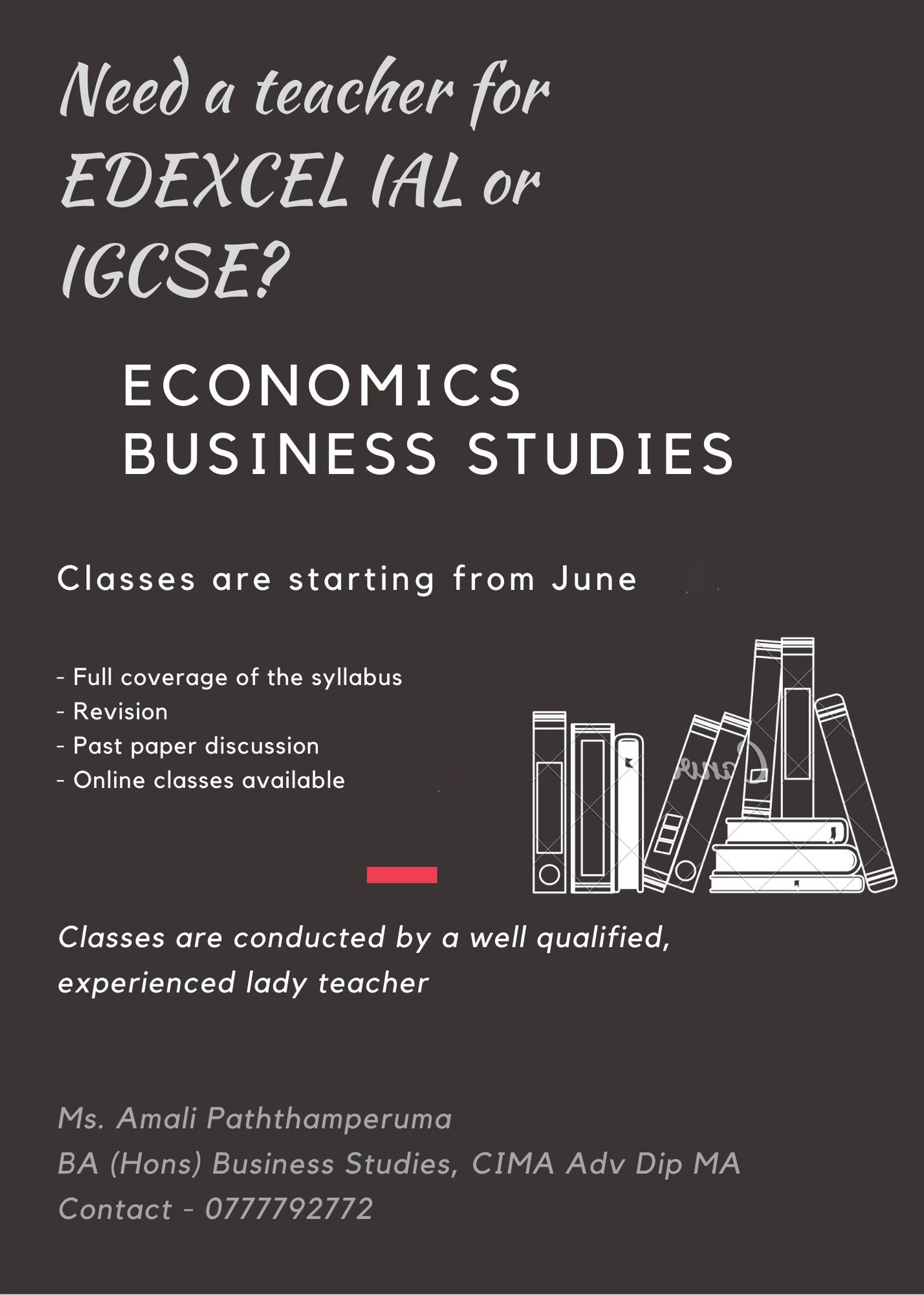 Economics and Business Studies for Edexcel IAL and IGCSE