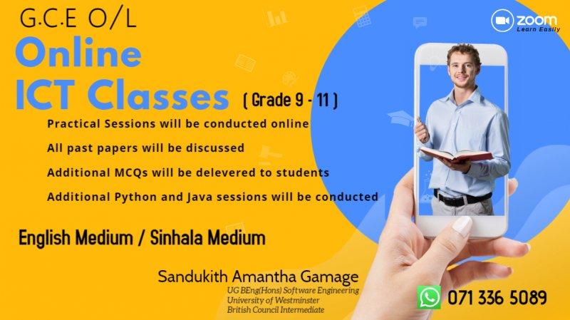 Online ICT Classes (GCE O/L)