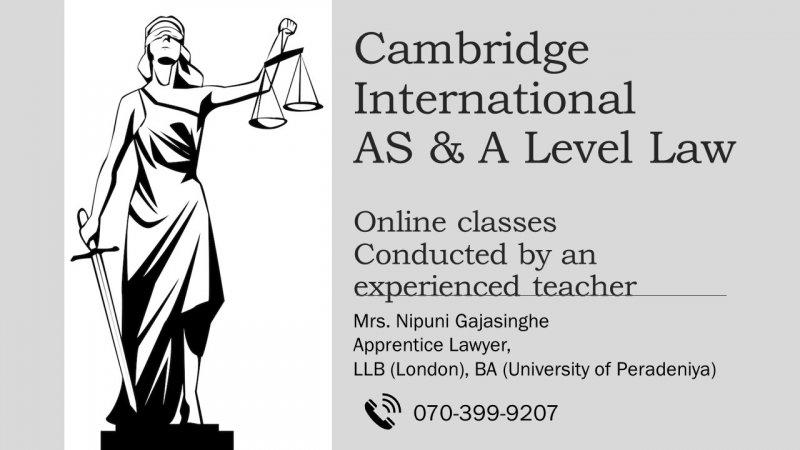 LAW - Cambridge AS & AL