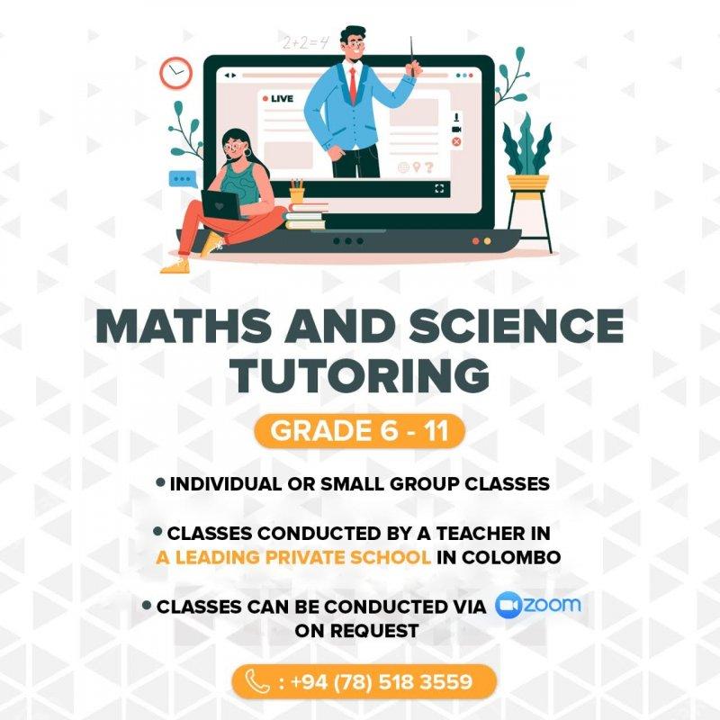 Mathematics Classes for Grade 6-11 students