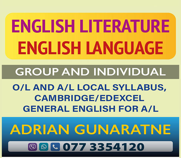 ENGLISH LITERATURE FOR O/LEVEL AND A/LEVEL/ GENERAL ENGLISH FOR A/LEVEL / ENGLISH / IELTS.