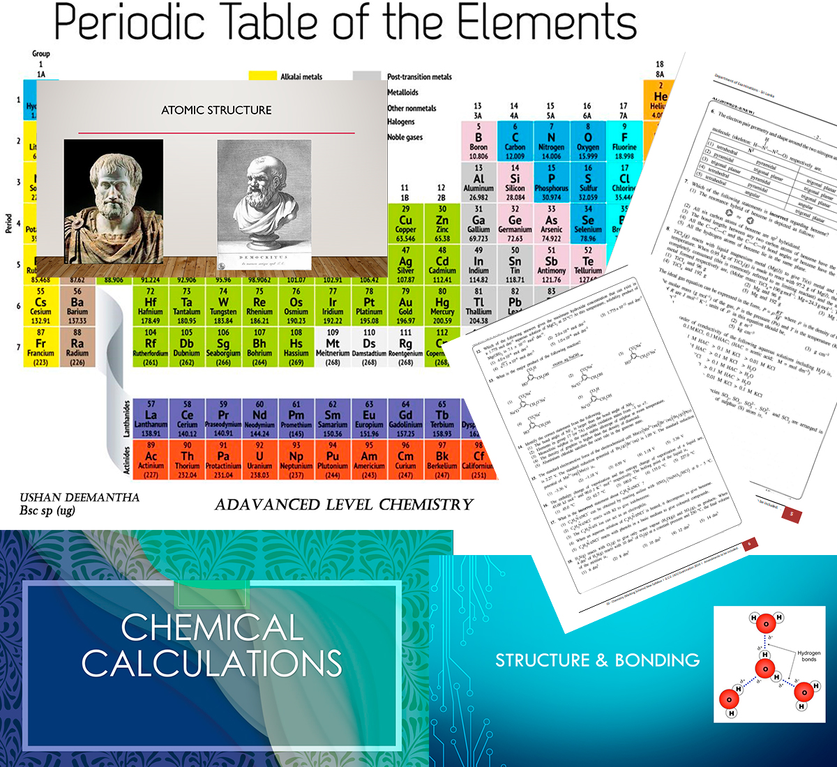 2021 A/L ONLINE Chemistry Revision and 2022 2023 chemistry Online Theory. Unit revision and paper class. By Bsc.special In Chemistry (ug)