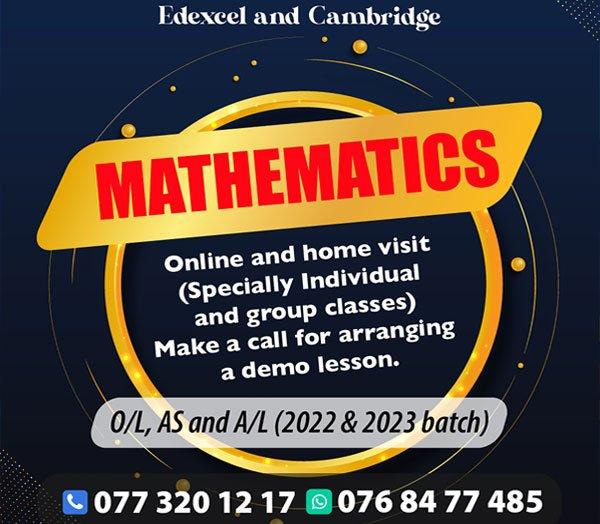 Mathematics Tution