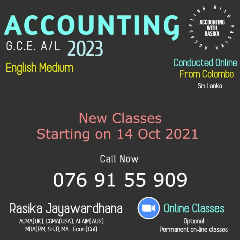 Accounting Local and London AL