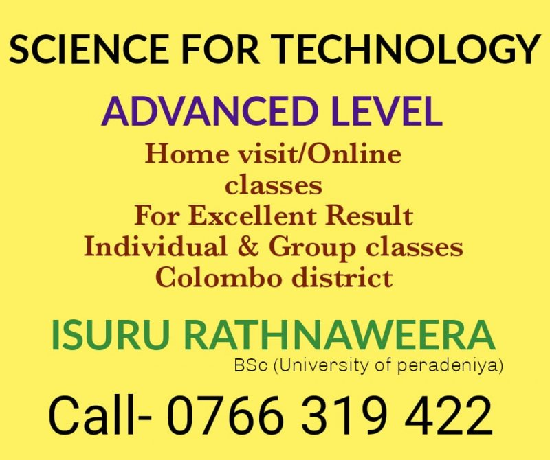 Science for Technology