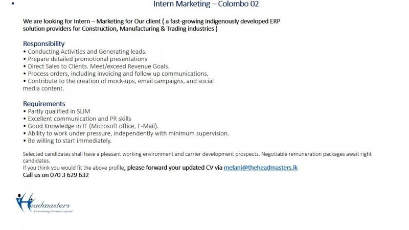 Intern Marketing