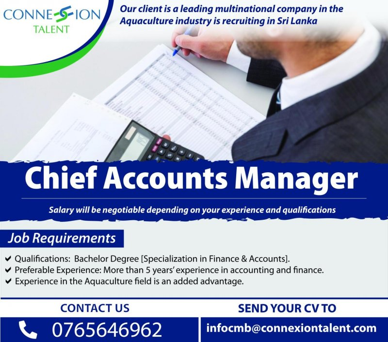 Chief Accounts Manager