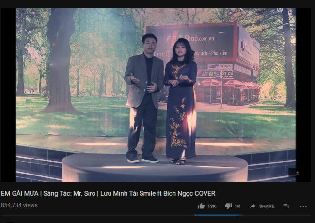 Em Gái Mưa - Lưu Minh Tài Cover