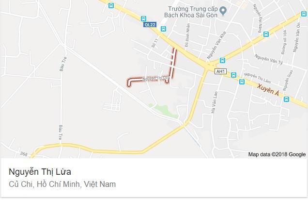 Đường Nguyễn Thị Lừa ở Củ Chi, ở Hóc Môn còn có Trịnh Thị Dối.