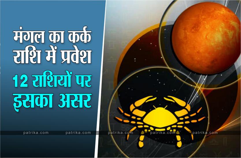 Mars Rashi Parivartan june 2021: किन राशियों पर होगा अच्छा व बुरा असर, साथ ही जानें बचाव के उपाय