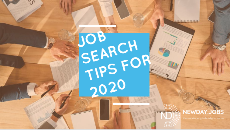 Job search tips for 2020 | Blog from New Day Jobs