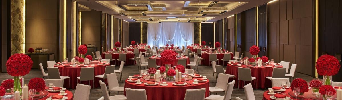 亞洲豪华酒店婚宴厅