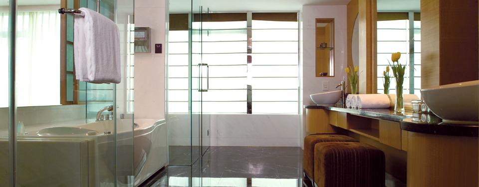 上海酒店套房浴室