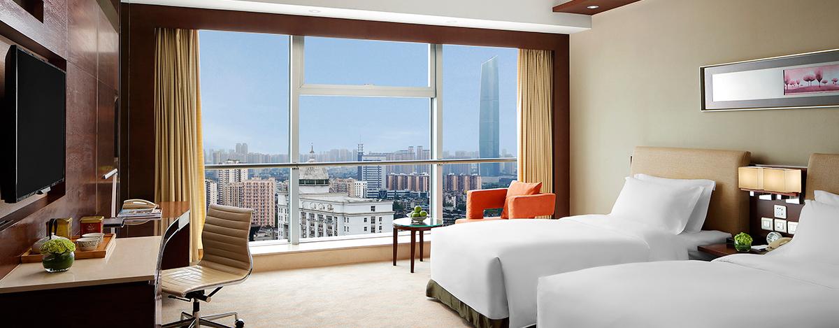 武汉酒店豪华客房