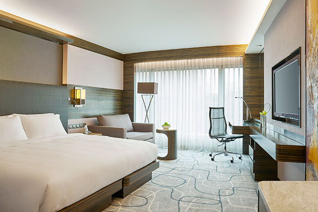 Hotel Rooms With Residence Club Access New World Millennium Hk