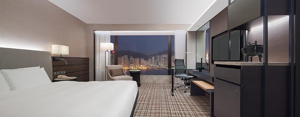 香港酒店豪華客房