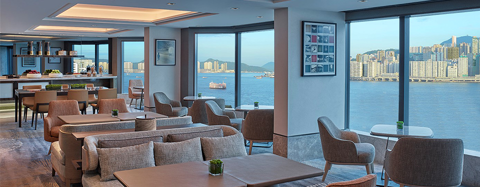 hotel club lounge in hong kong