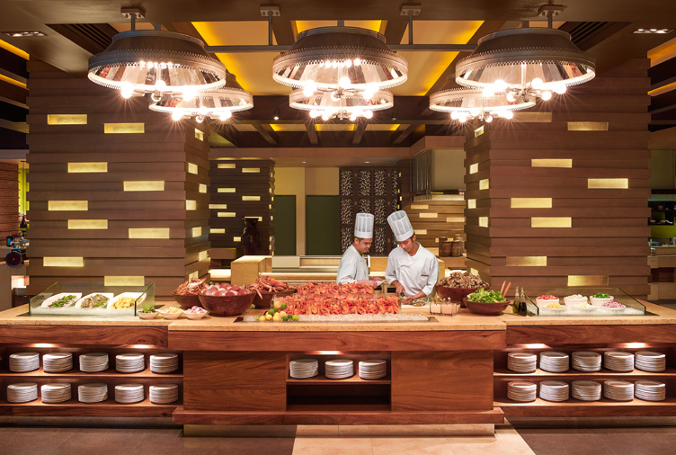 Hotel buffet international cuisine in makati manila for W hotel in room dining menu singapore
