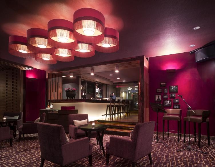 Hotel Bar In Makati Manila New World Makati Hotel