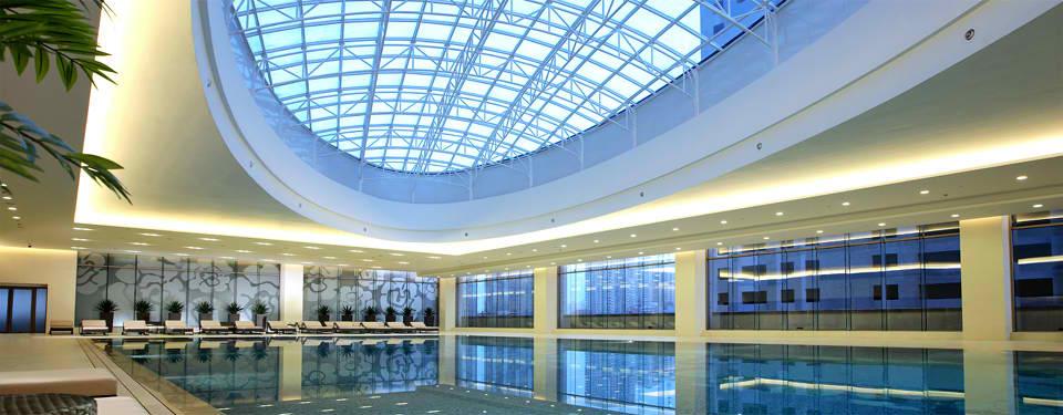 hotel swimming pool in dalian
