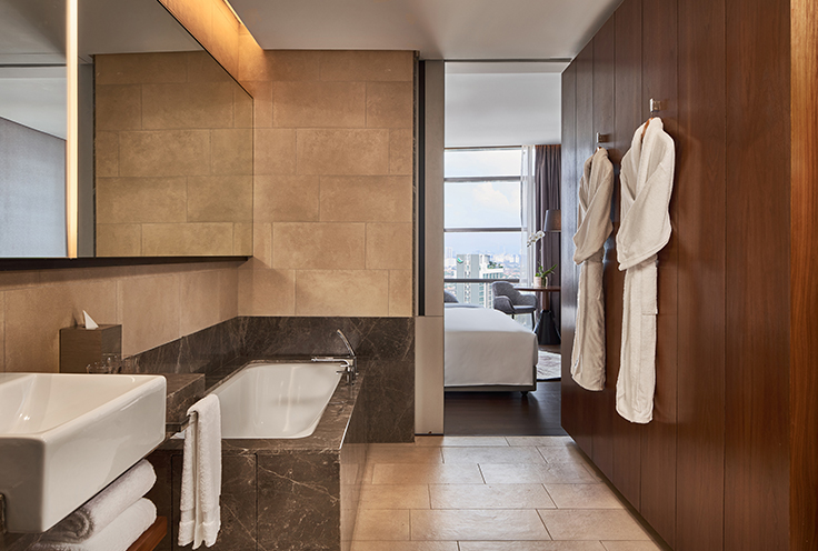 New World Petaling Jaya Hotel Bathroom in Guestroom