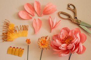 Cara Membuat Bunga Dari Kertas Untuk Valentine Mudah Banget