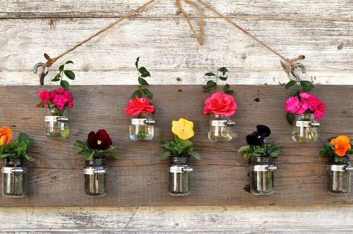 Cara Membuat Pot Bunga Gantung dari Barang Bekas yang Sangat Mudah dan Praktis
