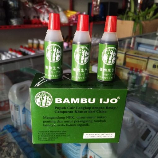 Cara Menggunakan Pupuk Cair Bambu Ijo untuk Tanaman