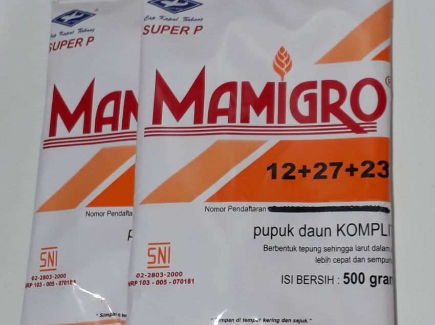 Kegunaan Pupuk Daun Mamigro – Dosis dan Cara Mengaplikasikannya