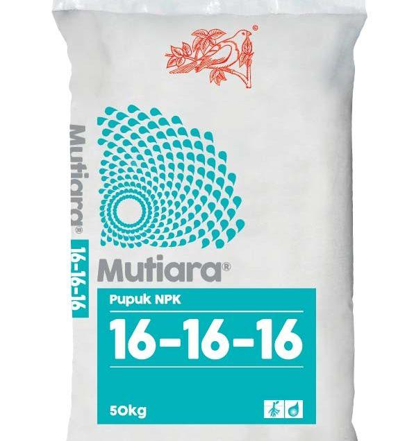 Dosis Pupuk NPK Mutiara 16-16-16 untuk Tanaman dan Cara Menggunakannya