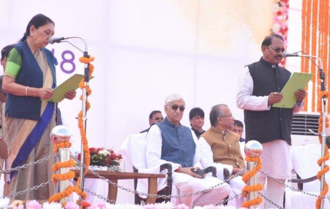 Dr. Premasay Singh becomes Minister of Chhattisgarh