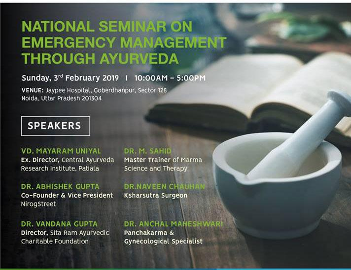Emergency Management through Ayurveda