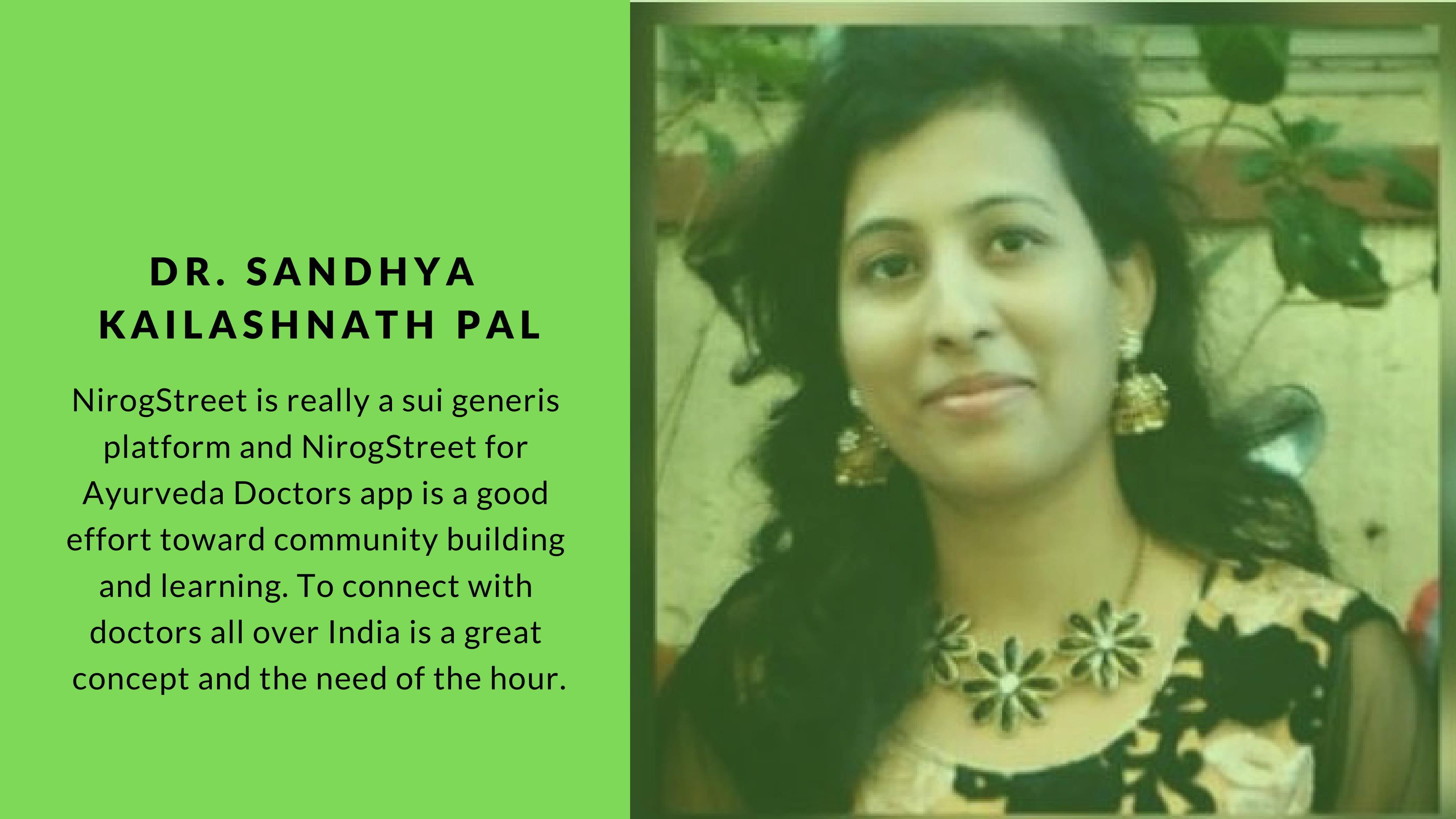 Dr. Sandhya Kailashnath Pal