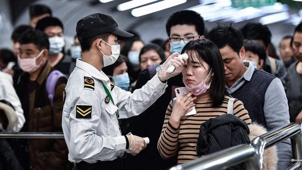 coronavirus patient in china