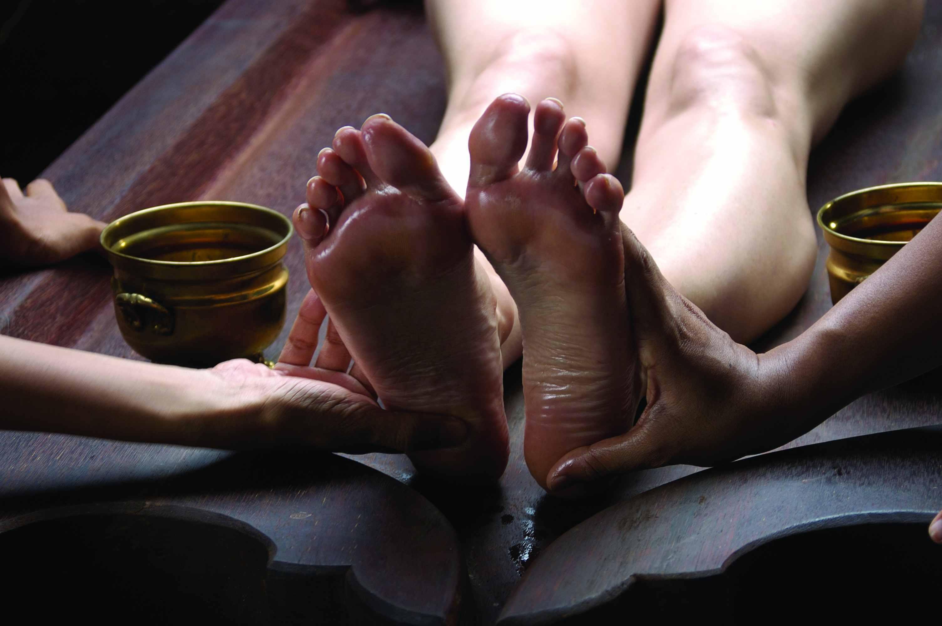 Foot Massage in Ayurveda