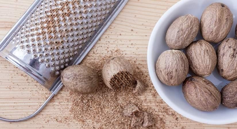 Benefits of nutmeg & rosehip