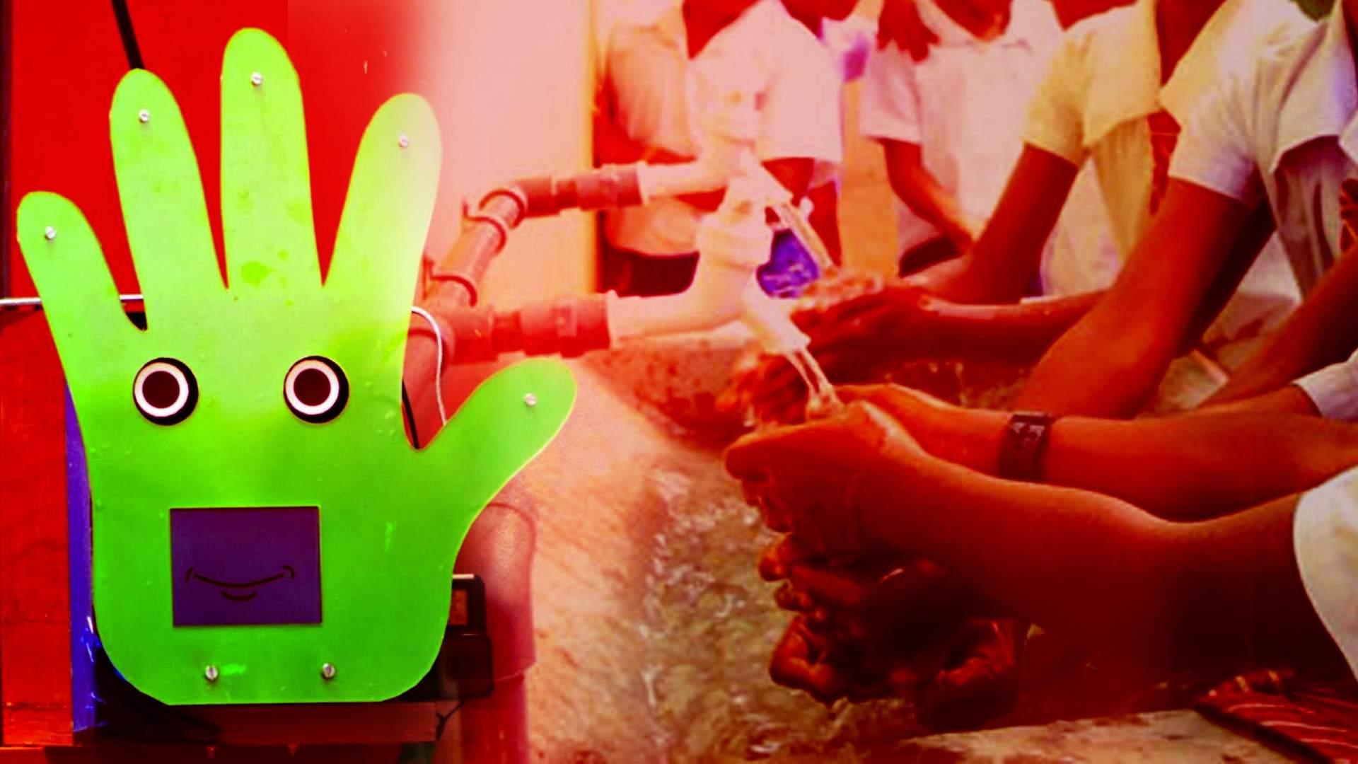 robot will give hygiene mantra to school children