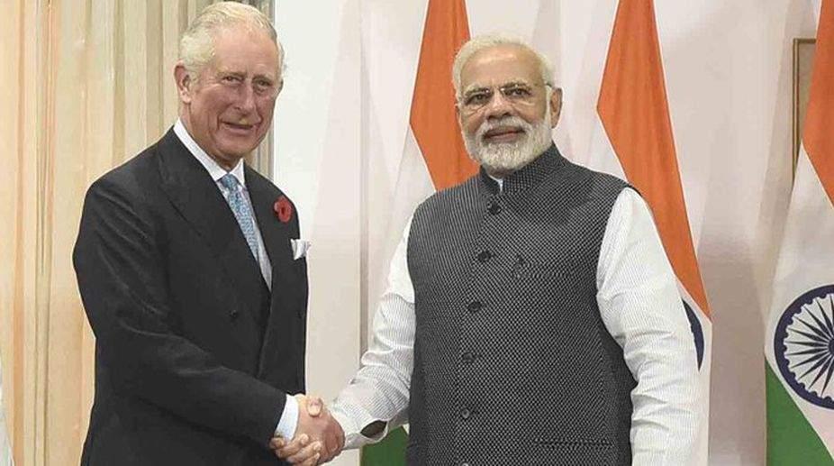 Prime Minister thanks Prince Charles