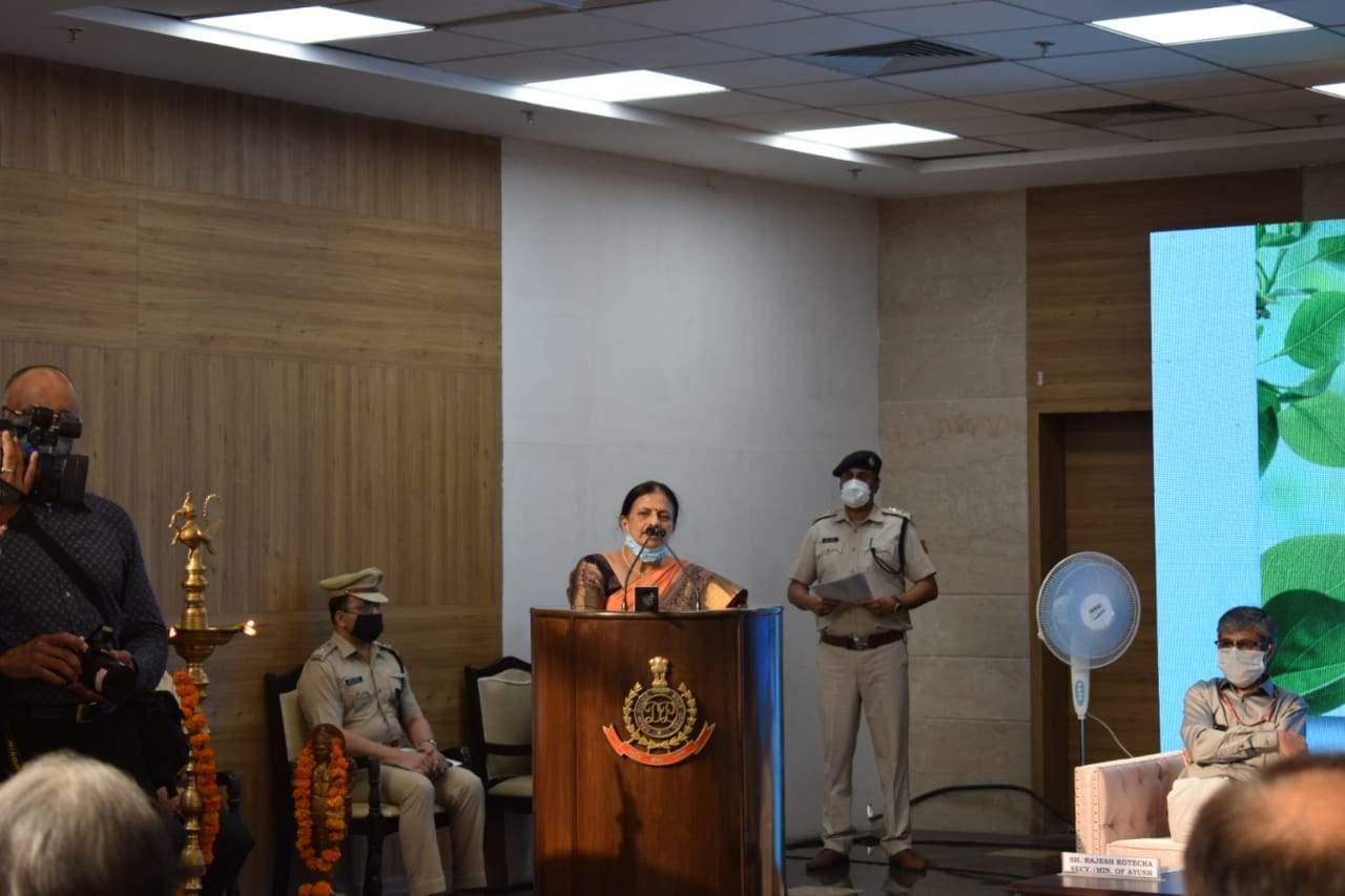 आयुर्रक्षा-कोरोना से जंग-दिल्ली पुलिस के संग