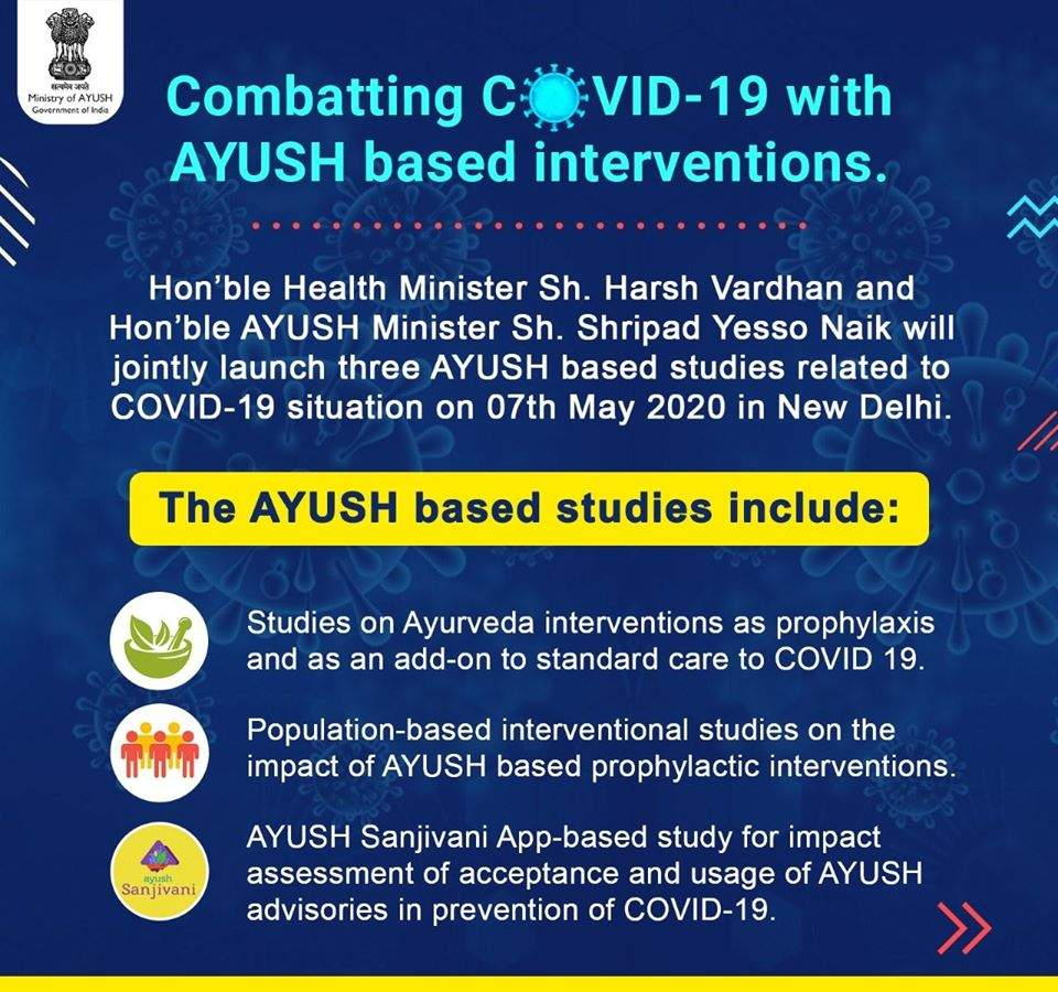 AYUSH INTERVENTIONS FOR COVID 19 SITUATION
