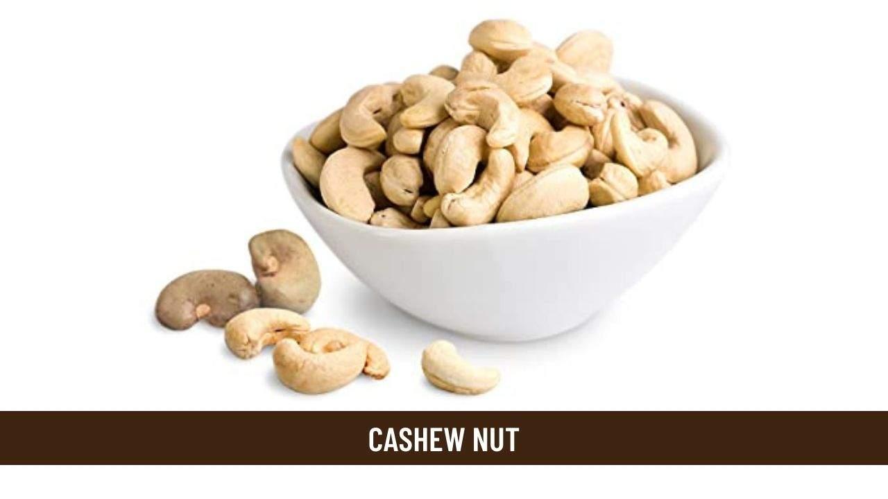 cashew nut health benefits