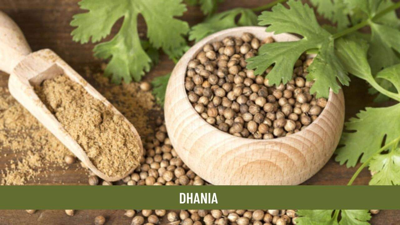 Dhania health benefits