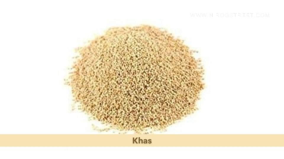 Khas Health Benefits