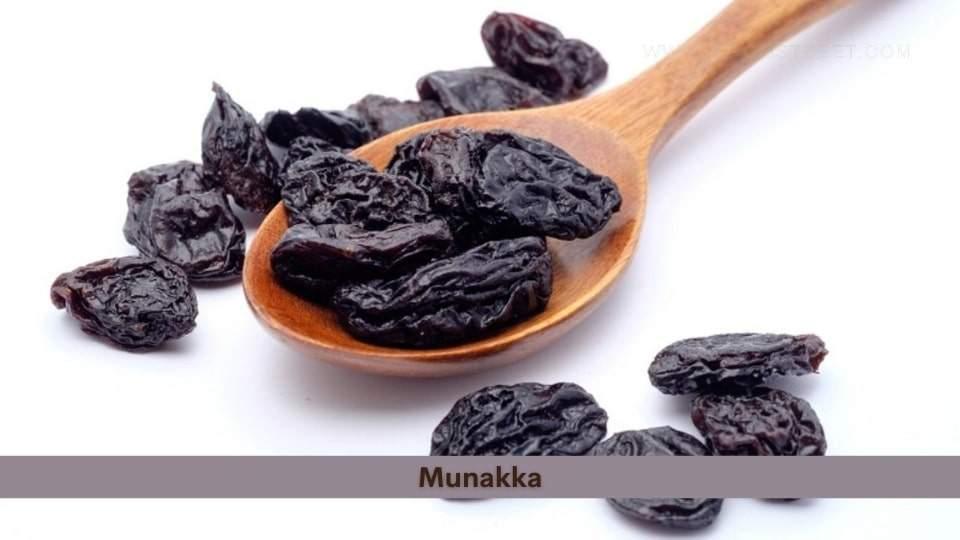 Munakka Health Benefits