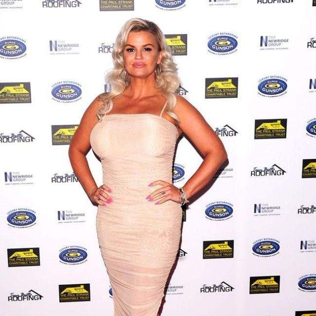 Singer Kerry Katona wouldn't wish Covid-19 on anyone