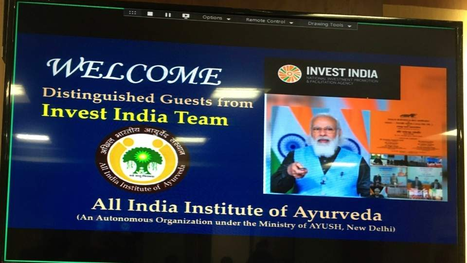AIIA & Invest India: Discussed Opportunities and Growth in NewIndia's AYUSH Sector