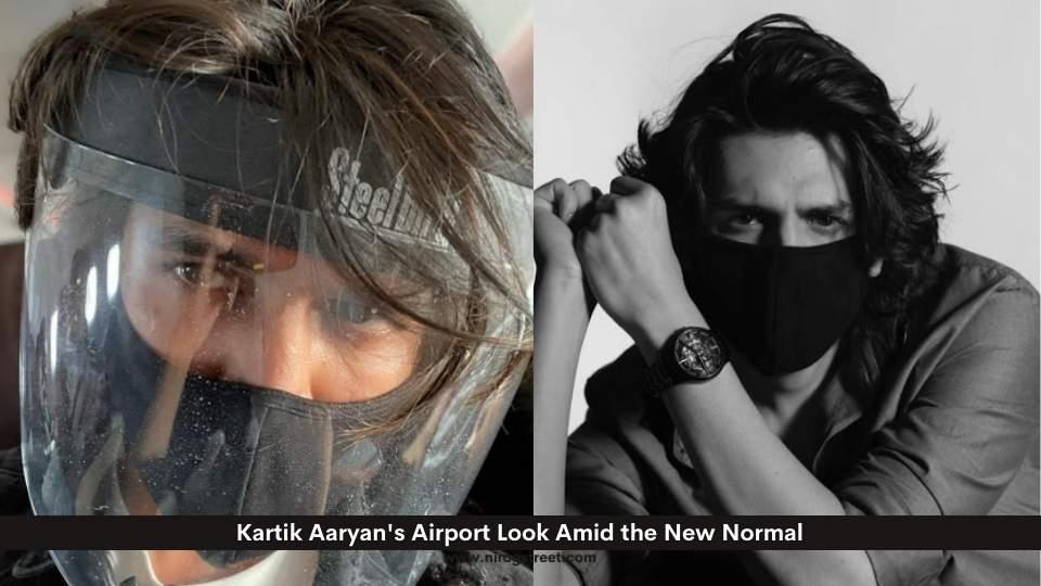 Kartik Aaryan's Airport Look Amid the New Normal