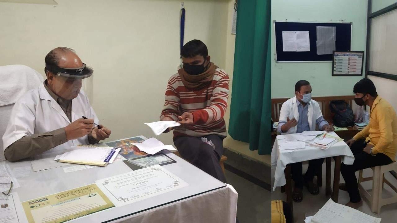 पाइल्स जांच शिविर सफलतापूर्वक संपन्न, आयुर्वेद चिकित्सकों से सलाह लेने उमड़े लोग