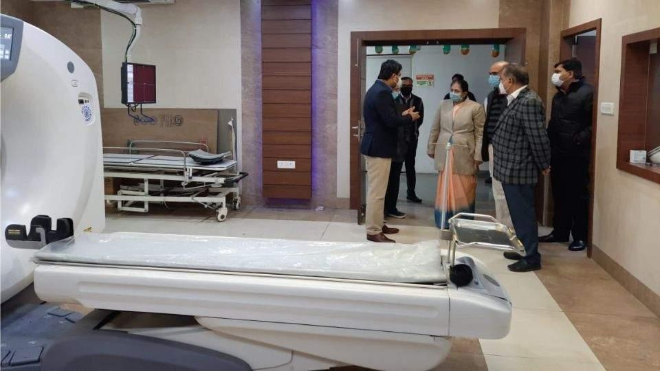 Inauguration of CT Scan Services at AIIA- अखिल भारतीय आयुर्वेद संस्थान में सीटी स्कैन सेवाओं का उद्घाटन